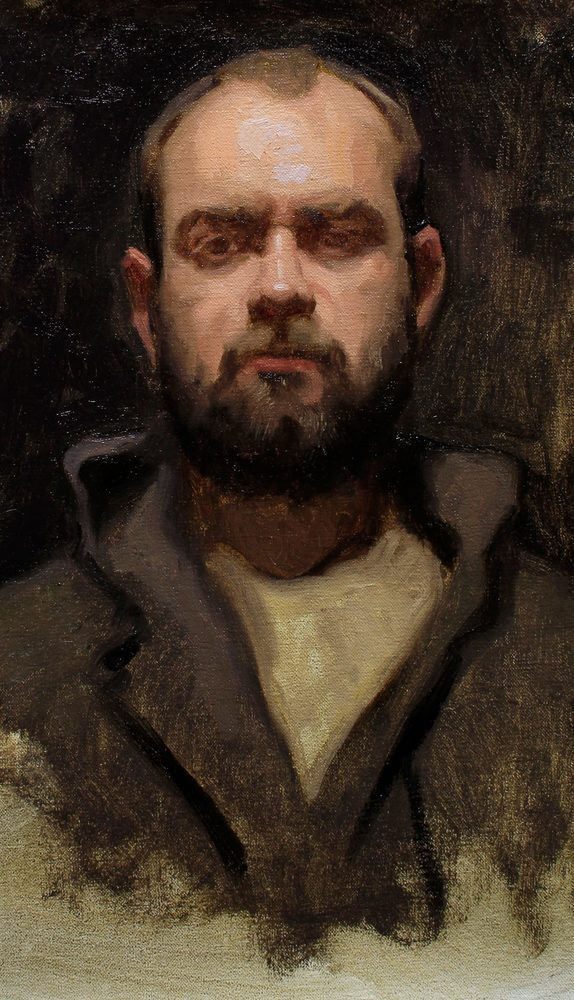 Retrato pintura Jordio